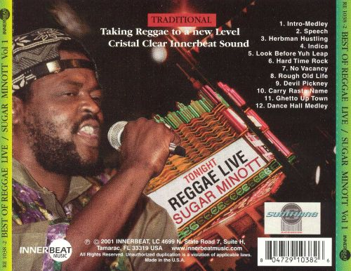 Best of Reggae Live, Vol. 1: Sugar Minott