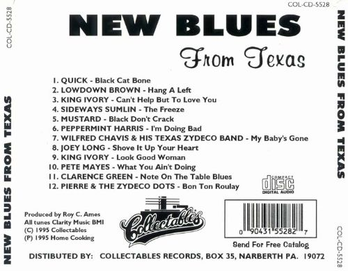New Blues From Texas