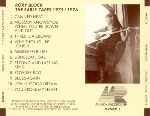 The Early Tapes 1975-1976