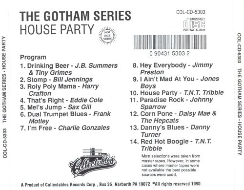 The Gotham Series: House Party