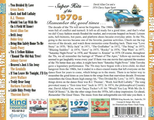 Super Hits of the 1970's [King]
