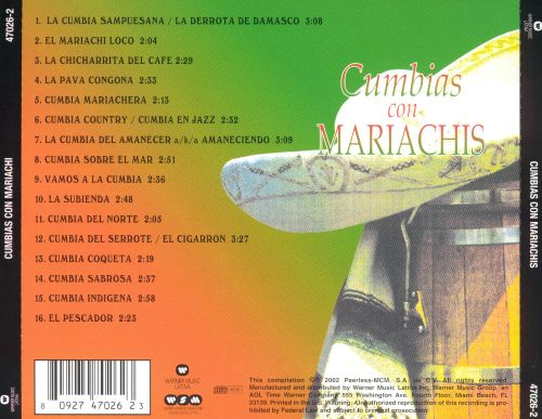 Cumbias Con Mariachi [Wea International]