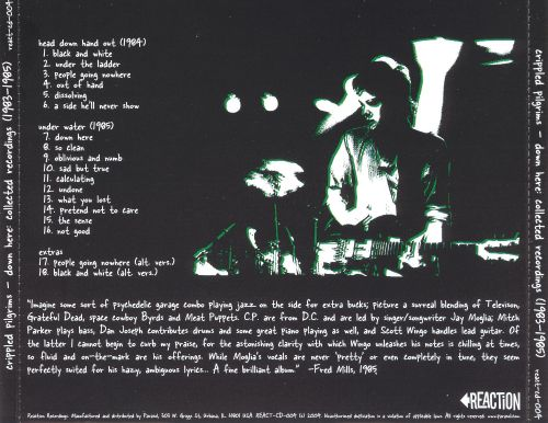 Down Here: Collected Recordings 1983-1985