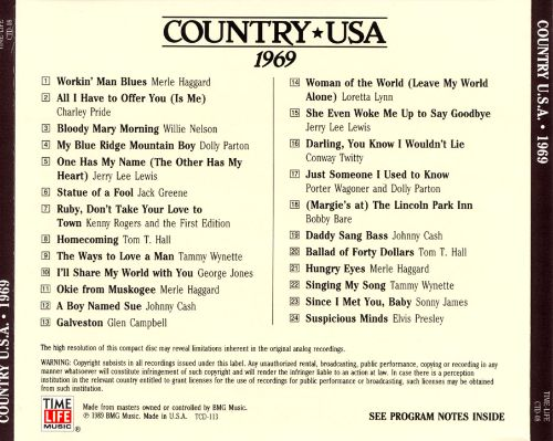 Country U.S.A.: 1969