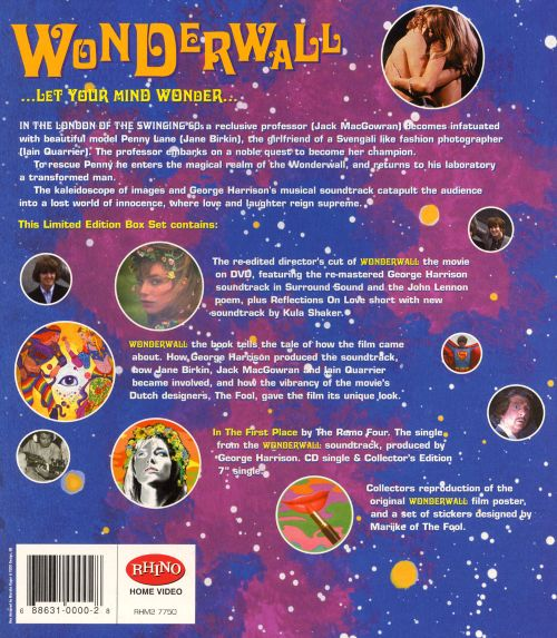 Wonderwall Collector's Edition DVD Box Set [2004]