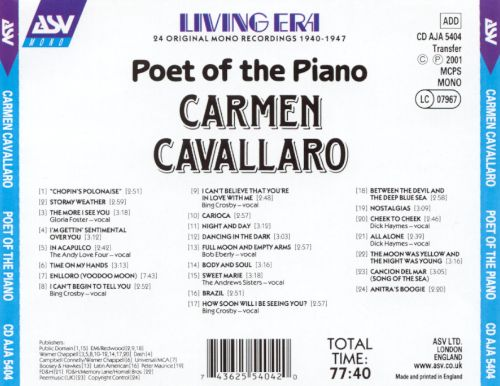 Poet of the Piano
