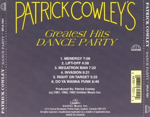 Greatest Hits Dance Party