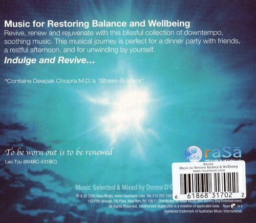 Revive: Music to Restore Balance & Wellbeing