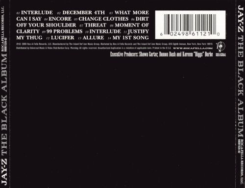 The black album jay z songs reviews credits allmusic the black album the black album malvernweather Gallery