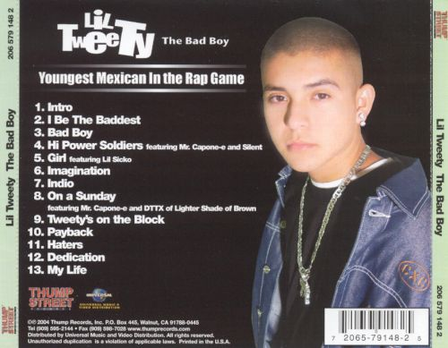 The bad boy lil tweety songs reviews credits allmusic lil tweety the bad boy thecheapjerseys Gallery