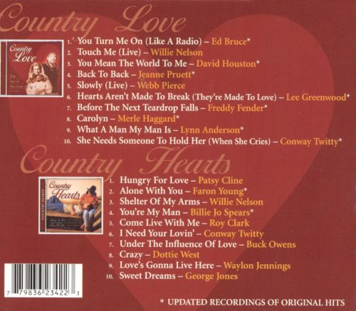 Country Love Songs [Direct Source][2 CD]