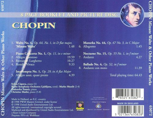 Chopin: Minute Waltz & Other Piano Works