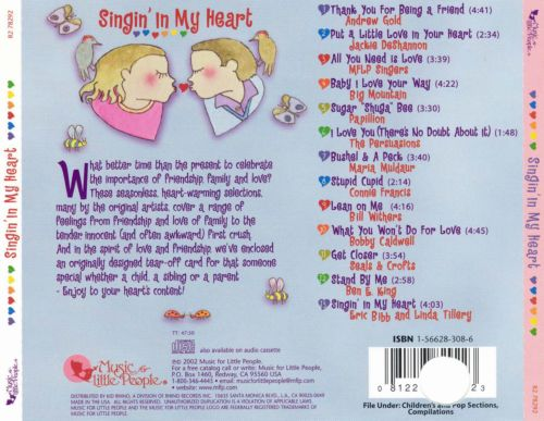 Singing in My Heart: Songs of Love and Friendship