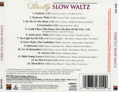 Strictly Slow Waltz
