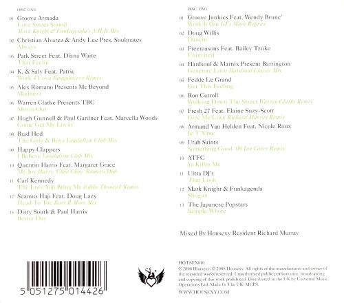 Ministry of Sound: Housexy, Vol. 10