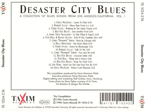 Disaster City Blues: A Collection of Contemporary Blues, Vol. 1