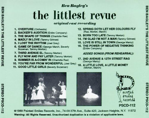 The Littlest Revue [Original Cast]