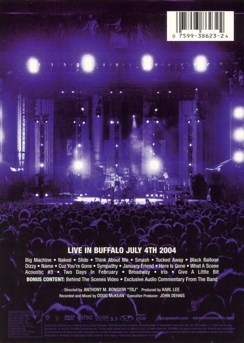 Live in Buffalo: July 4, 2004 [DVD]
