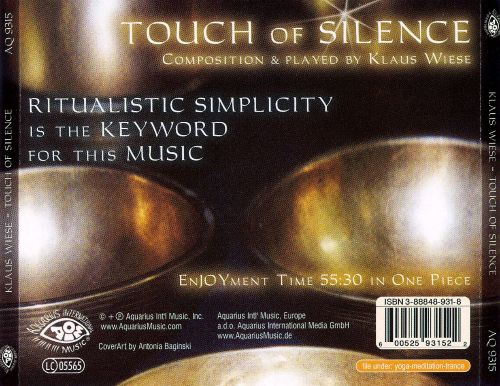 Touch of Silence: Tibetan Bowls for Meditation