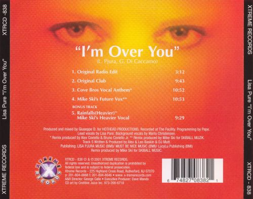I'm Over You