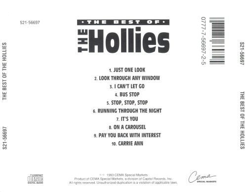 The Best of the Hollies [Capitol]