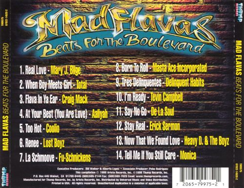 Mad Flavas: Beats for the Boulevard