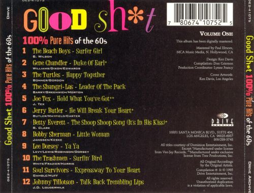 Good Sh*t, Vol. 1: 100% Pure Hits of the 60s
