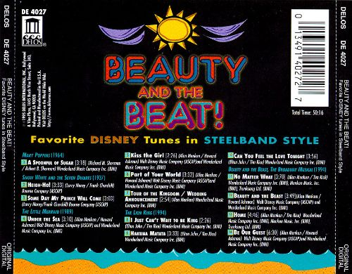 Beauty and the Beat: Favorite Disney Tunes in Steelband Style