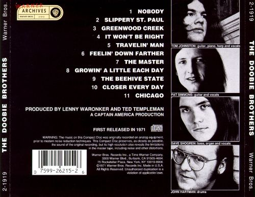 Image result for doobie brothers the doobie brothers