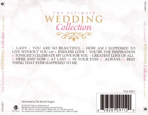 The Ultimate Wedding Collection: Disc One