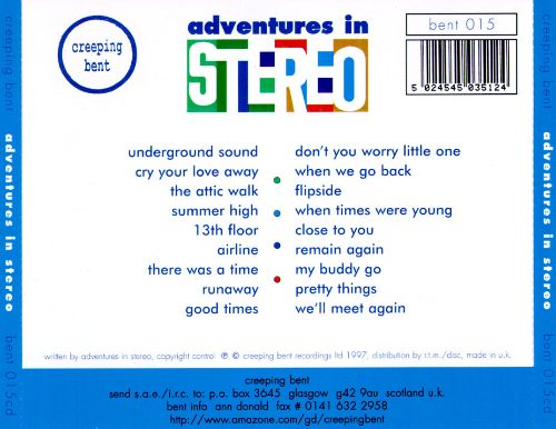 Adventures in Stereo
