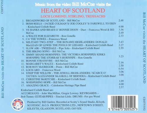 Bill McCue Visits the Heart of Scotland