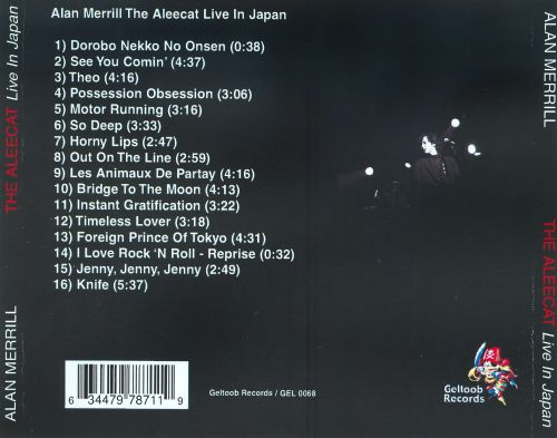 The Aleecat: Live in Japan