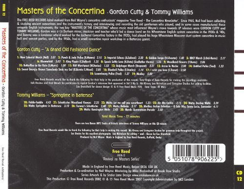 Masters of the Concertina