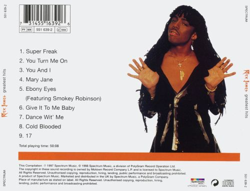 play rick james greatest hits