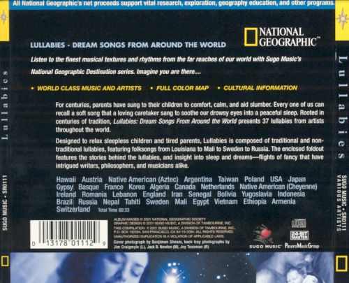 National Geographic: Lullabies - Dream Songs From Around the World