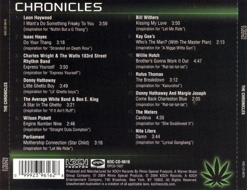 Roots of G-Funk Soul Classics That Inspired the Chronic