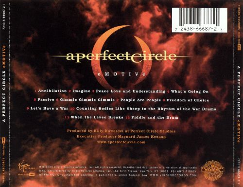 A Perfect Circle - Imagine - YouTube