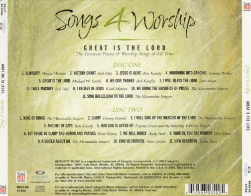 Songs 4 Worship: Great Is the Lord