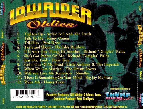 Lowrider Oldies, Vol. 7