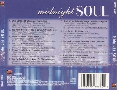 Midnight Soul [Madacy Disc 1]