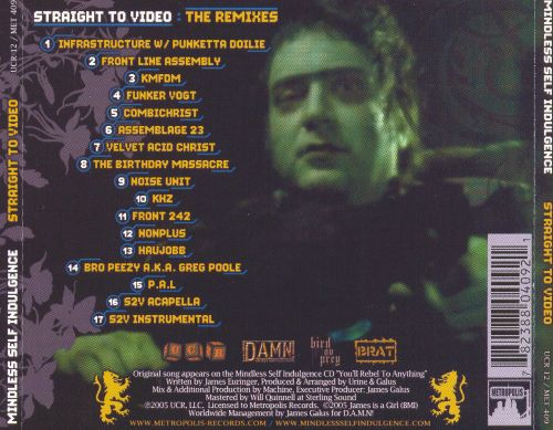 Straight to Video: The Remixes