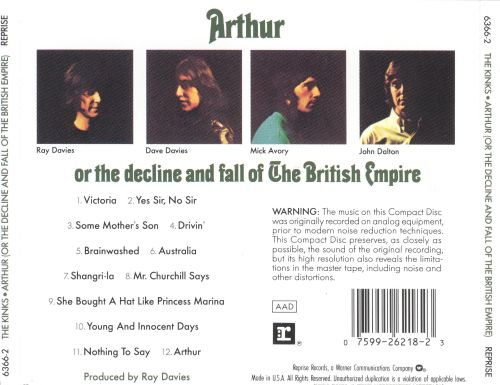 Arthur (Or the Decline and Fall of the British Empire)