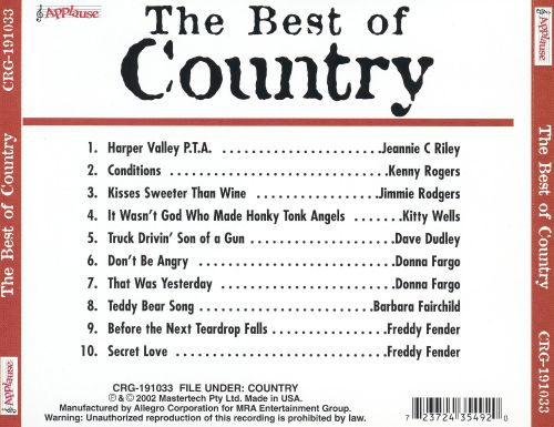 Best of Country [Columbia River]