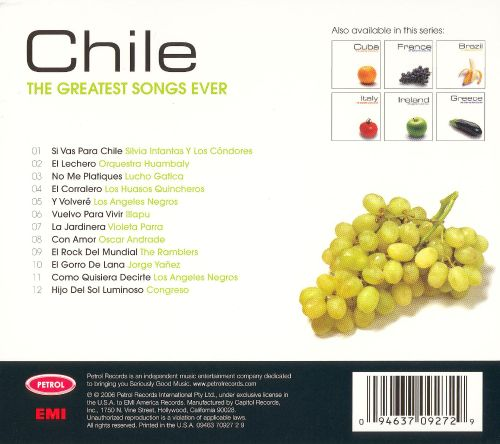 The Greatest Songs Ever: Chile