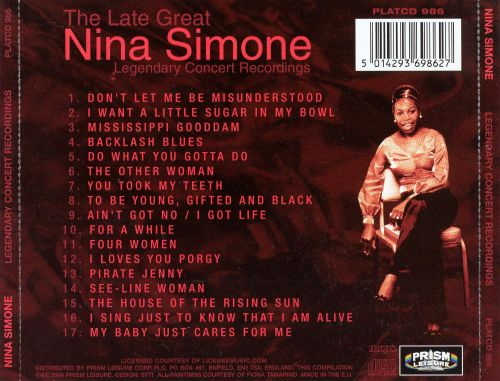 The Late Great Nina Simone
