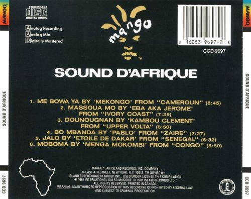 Image result for sound d'afrique