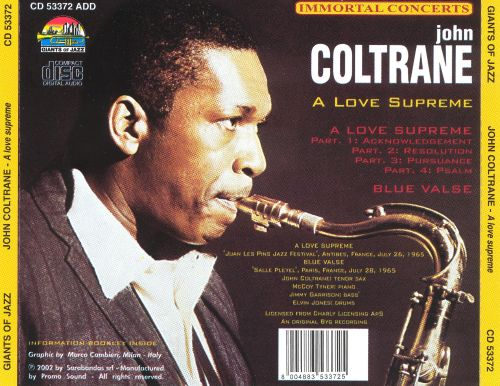 A Love Supreme [Giants of Jazz]