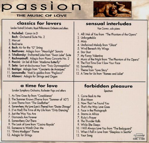 Passion: The Music of Love