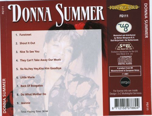 Donna Summer [Solo UK]
